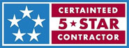 Certainteed 5-Star Contractor